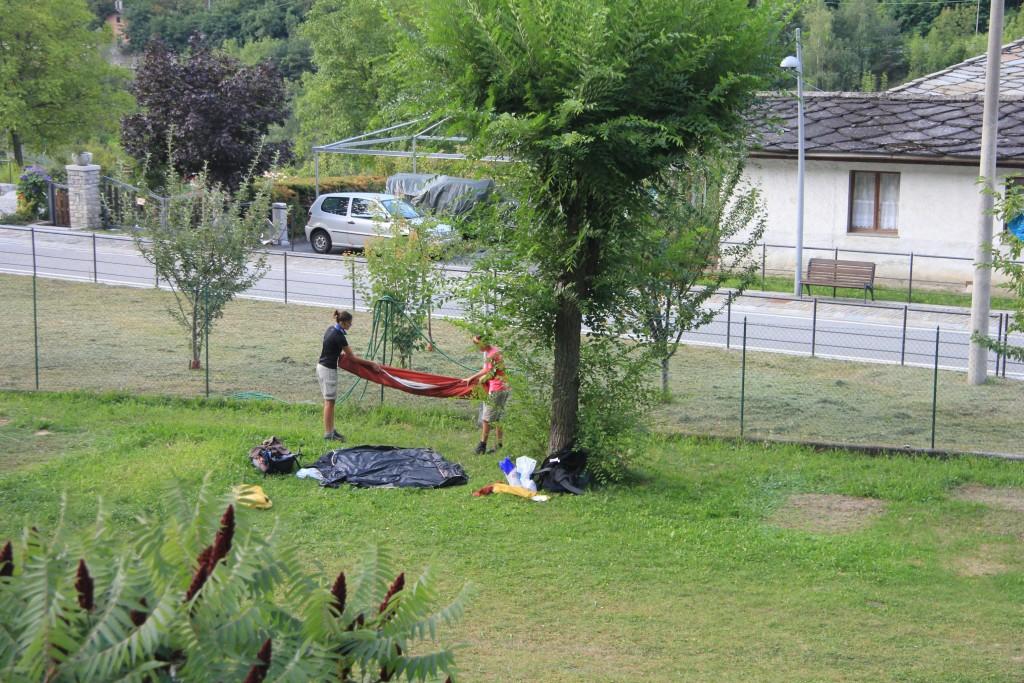 Camping d'Avise.